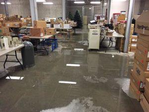 Warehouse-Water-Damage-Restoration-Flooding
